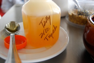 Tally Tupelo honey from Morgan